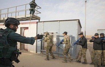 قوات الحرس الحدودي تصقل مهاراتها القتالية