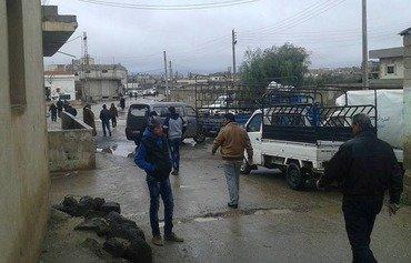 درعا تشهد موجة نزوح في أعقاب تهديد النظام