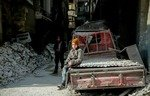 Embattled Eastern Ghouta residents refuse to leave
