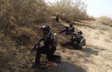 القوات العراقية تكثف عملياتها في جزيرة سامراء