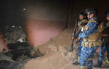 الشرطة العراقية تدمر أوكاراً لداعش في الحويجة