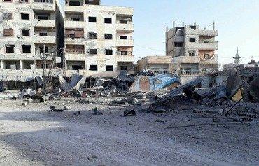 إخلاء المرضى والمصابين من الغوطة الشرقية