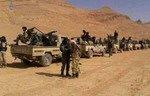 القوات السورية تتعرض للقصف في القلمون الشرقي