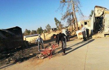 القوات العراقية تطهر تلعفر من متفجرات داعش