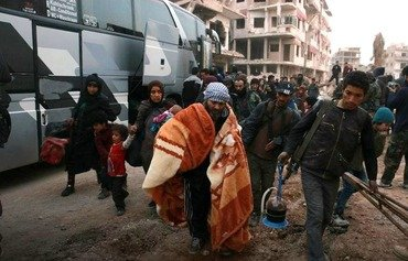 انسحاب جديد للمعارضة من الغوطة في سوريا