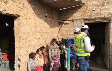 منطقه دیالی خانه های آسیب دیده توسط داعش را تعمیر می کند