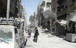 عناصر المعارضة يبدأون بمغادرة آخر معقل في الغوطة