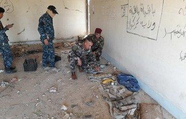 پلیس عراق روستاهای مسیر بزرگراه کرکوک-بغداد را امن می کند