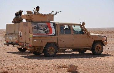 نیروهای مشترک بقایای داعش در مناطق بیابانی انبار را نابود می کنند