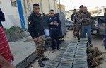 پلیس نینوا قاچاق سلاح داعش را سد کرد