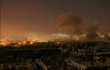 زعماء العالم والسكان المحليون يرحبون بالضربة ضد سوريا