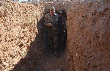 القوات العراقية تؤمن أربع قرى في أعالي الفرات