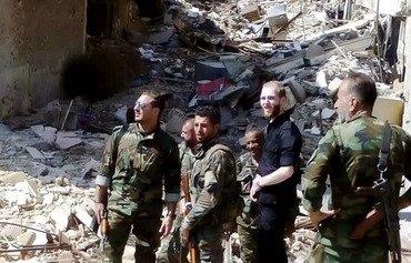 هيئة تحرير الشام تخرج من مخيم اليرموك