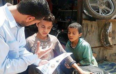 شرطة إدلب الحرة تحذر المدنيين من مخاطر العبوات الناسفة