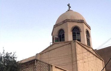 Iraqi army helps to restore houses of worship