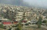 Des éléments del'EIIS quittent Yarmouk pour la région de la Badiya