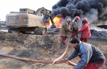 Iraq extinguishes last oil well fire set by ISIS