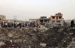 At least 20 dead as arms depot blows up in Baghdad