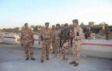 نیروهای امنیتی در انبار حمله انتحاری داعش را دفع کردند