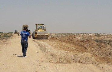 تکمیل ساخت دیوار امنیتی بغداد نزدیک است