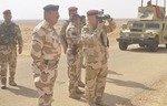 اعضای باقیمانده داعش در مناطق بیابانی انبار تحت آتشبار قرار دارند