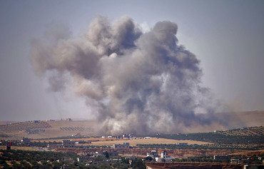 Airstrikes pound south Syria after talks fail