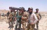 عشایر از تعقیب داعش در بیایان نینوا حمایت کردند