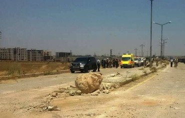 Opposition fighters, families leave Daraa for Idlib