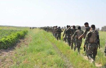 القوات العراقية تحافظ على الأمن في مناطق ديالى المعزولة