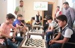 أطفال سوريون يتنافسون في بطولة الشطرنج