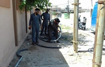 Mosul local government hard at work to restore services