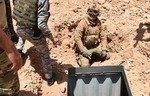 تخریب شبکه تونل های داعش در انبار از سوی نیروهای عراقی