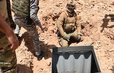 Iraqi forces destroy network of ISIS tunnels in Anbar