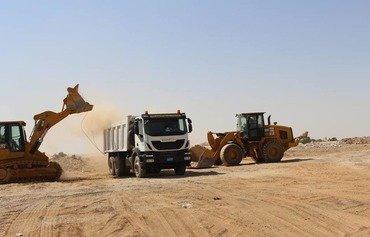 Iraqi army begins rehabilitation of Mosul's Ghazlani camp