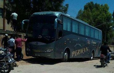 جماعة تابعة لداعش تخلي عناصرها من حوض اليرموك بسوريا