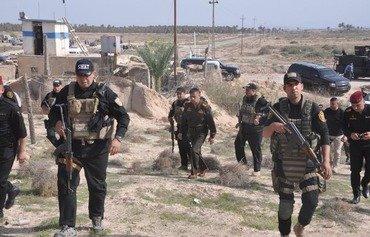 اكتشاف 3 مضافات تابعة لداعش في حملة أمنية في خانقين بديالى