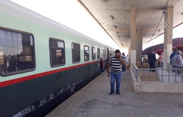Fallujah train station reopens with first journey from Baghdad