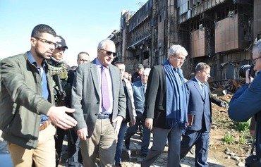 فرنسا تساعد المدنيين العراقيين والسوريين على استعادة حياتهم الطبيعية في مرحلة ما بعد داعش