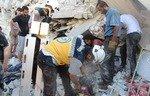 پس از انفجار در سرمدا سوریه آمارکشته شدگان افزایش یافت