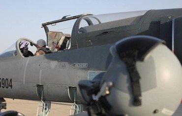 الطيران العراقي يدمر غرفة عمليات لداعش في سوريا