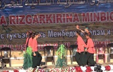 دومین مراسم سالگرد آزادی منبج برگزار شد