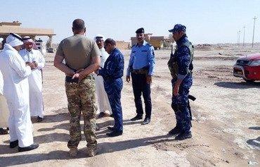 القوات العراقية والعشائرية تعزز الأمن في منطقة البعاج في نينوى