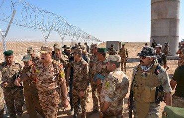 عراق مرزها را در مقابل نفوذ داعش مستحکم می کند