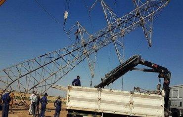 العراق يتخذ خطوات للحؤول دون تخريب خطوط الكهرباء