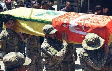 میلیشیاکانی سەربە سوپای پاسداران ئامانجەکانی ئێران لە سوریا پێشدەخەن
