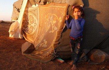 Dures conditions de vie pour les déplacés d'Idlib