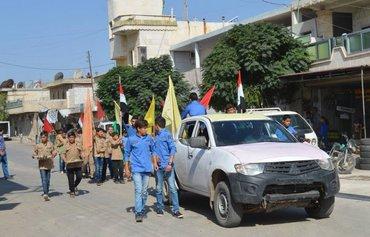 قوات الكشافة حاضنة للميليشيات التابعة للحرس الثوري الإيراني في سوريا