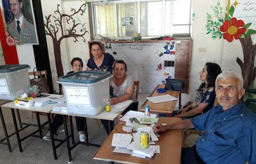 Syrian activists describe local elections as a farce