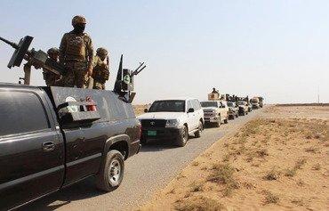 Une opération dans le désert occidental d'Irak permet la capture d'éléments de l'EIIS