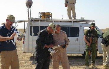 القوات المشتركة تستهدف داعش جنوبي صحراء الأنبار